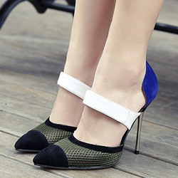 Shoespie Wide Wrap Stiletto Heels