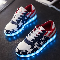 Shoespie Space Age Luminous Sneaker