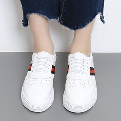 Shoespie White Brisk Breathable Sneaker