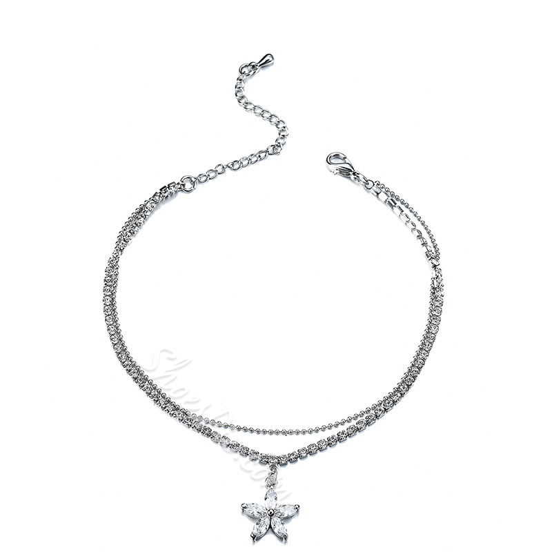 Shoespie Star Pendant Anklet for Women