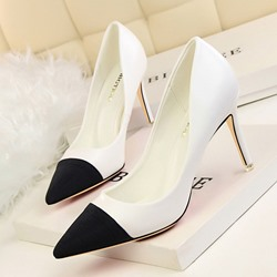 Shoespie Elegant Pointed-toe Shallow Stiletto Heels