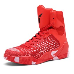 Shoespie Mesh High Upper Men's Basketball Sneakers