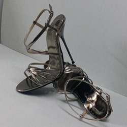 Shoespie Strappy Metal Heel Sandals