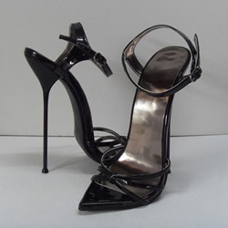 Shoespie Sexy Metal Stiletto Heel Sandals