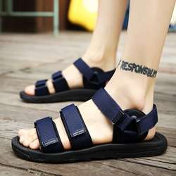 Shoespie Cloth Velcro Men's Sandals