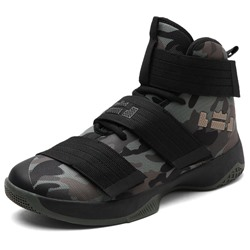 Shoespie Camo Bands High Upper Men's Sneakers