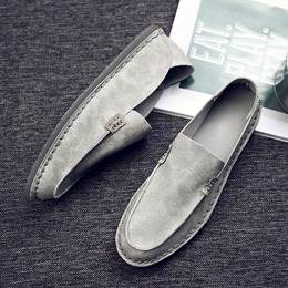 Shoespie Casual Summer Round Toe Slip-On Men's Loafers