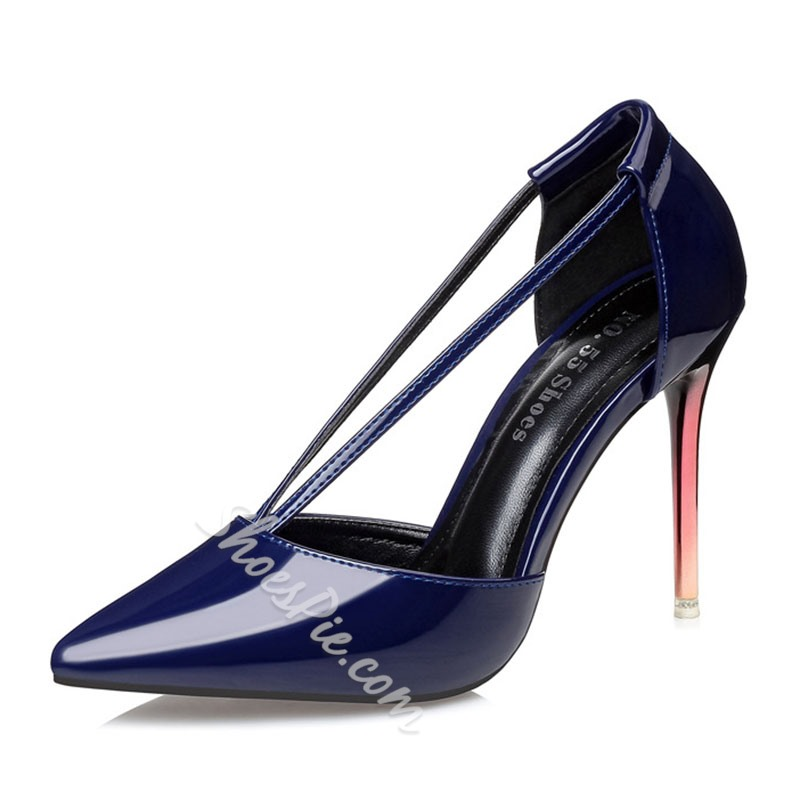 Shoespie Sexy Club Pointed Stiletto Heels