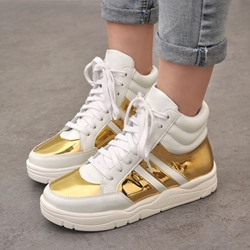 Shoespie Space Age Platform Lace-up Sneaker