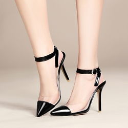 Shoespie Pointed Toe Stiletto Heel Sandals