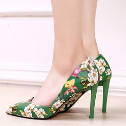 Shoespie Sinicism Pointed-toe Shallow Stiletto Heels