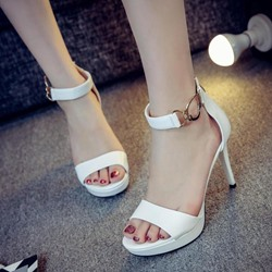 Shoespie Ankle Strap Platform Sandals
