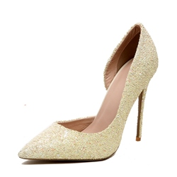 Shoespie Pointed-toe Shallow Stiletto Heels