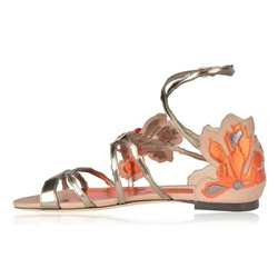 Shoespie Butterfly Cross Strap Flat Sandals