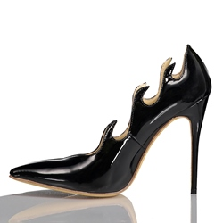 Shoespie Flame Pointed-toe Stiletto Heels