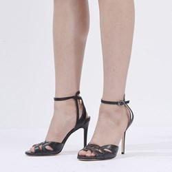 Shoepie Cutout Stiletto Heel Dress Sandals