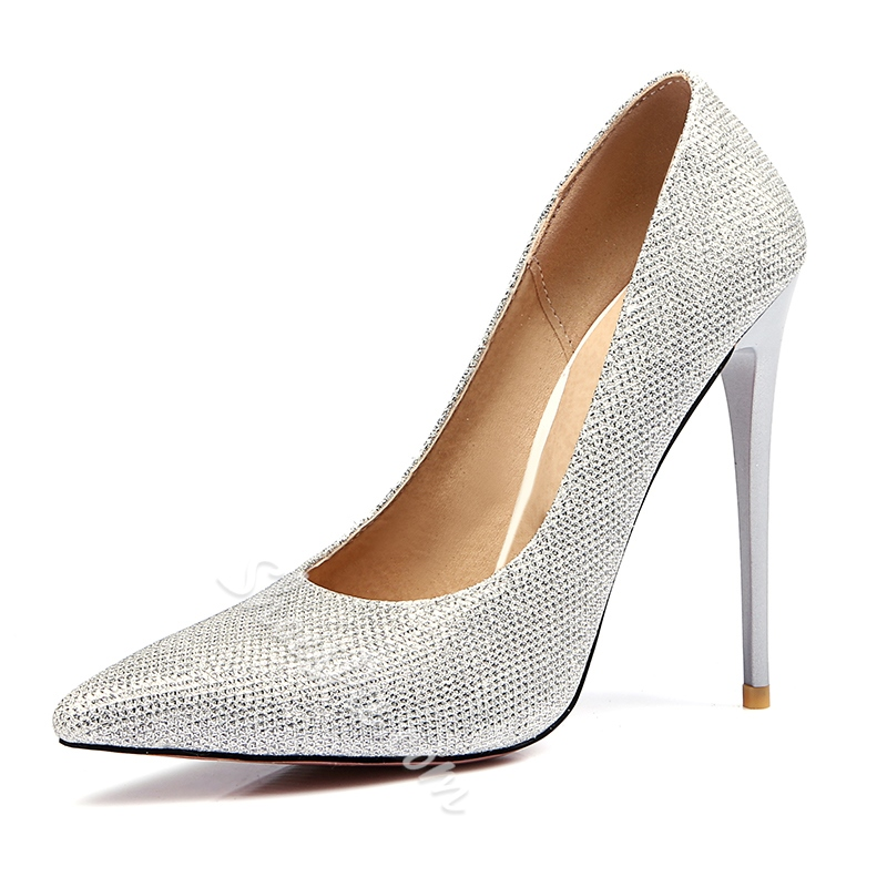 Shoespie Luxurious Pointed-toe Shallow Stiletto Heels