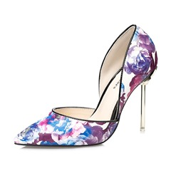 Shoespie Sexy Hollow Flower Stiletto Heels