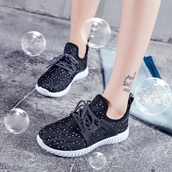 Shoespie Breathable Lace-up Sneaker