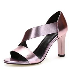 Shoespie Slip-On Heel Covering Stiletto Heels Dress Sandals