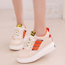 Shoespie Hidden Wedge Breathable Sneaker