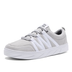 Shoespie Suede Low-Cut Upper Mesh Sneakers Athletic Shoes