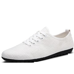 Shoespie Casual Weave Lace Up Men's Loafers