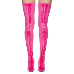 Shoespie Sexy Rose Pointed-toe Knee High Boots