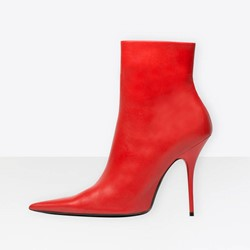 Shoespie Pointed-toe Classy Ankle Boots