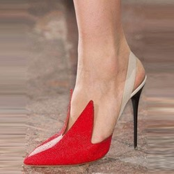 Shoespie Flaming Pointed-toe Stiletto Heels