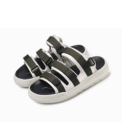 Shoespie Casual Velcro Color Block Low-Cut Upper Men's Sandals