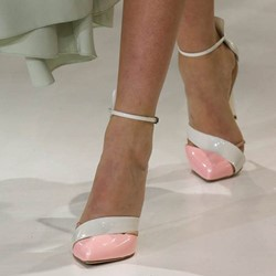 Shoespie Pink Pointed-toe Stiletto Heels