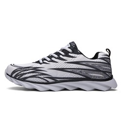Shoespie Lace-UpLow-Cut Upper Sneaker Color Block Athletic Shoes