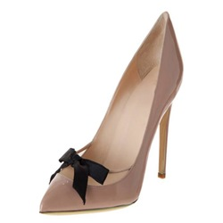 Shoespie Pointed-toe Bowtie Stiletto Heels