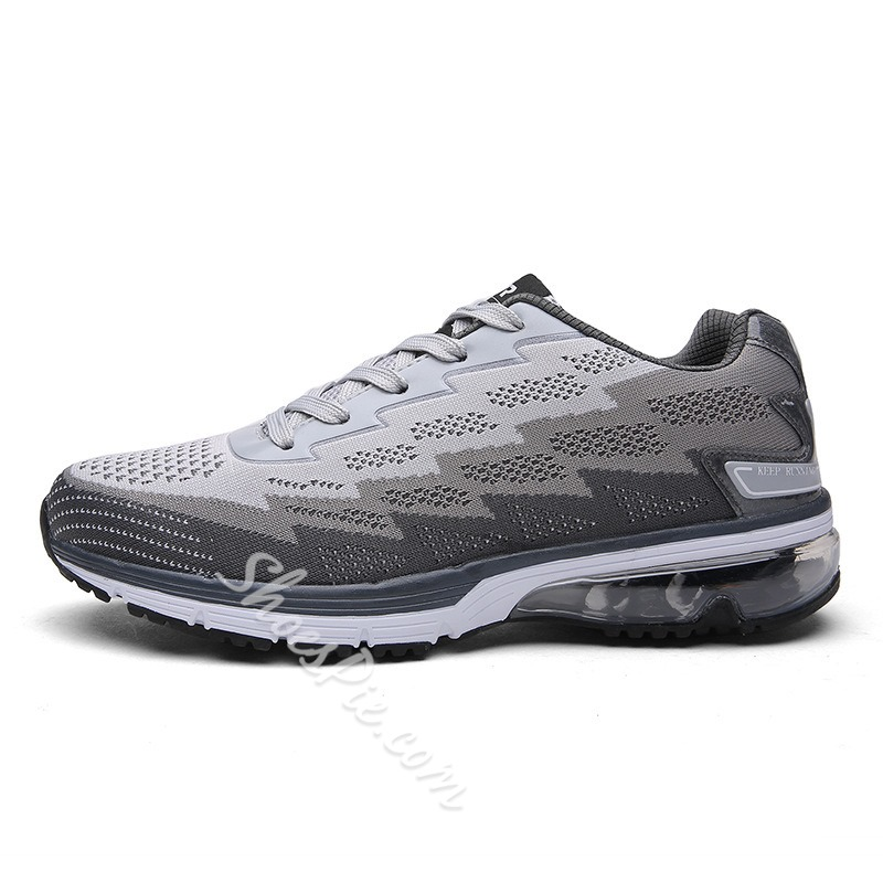 Shoespie Low-Cut Upper SneakerLace-Up Color Block Athletic Shoes