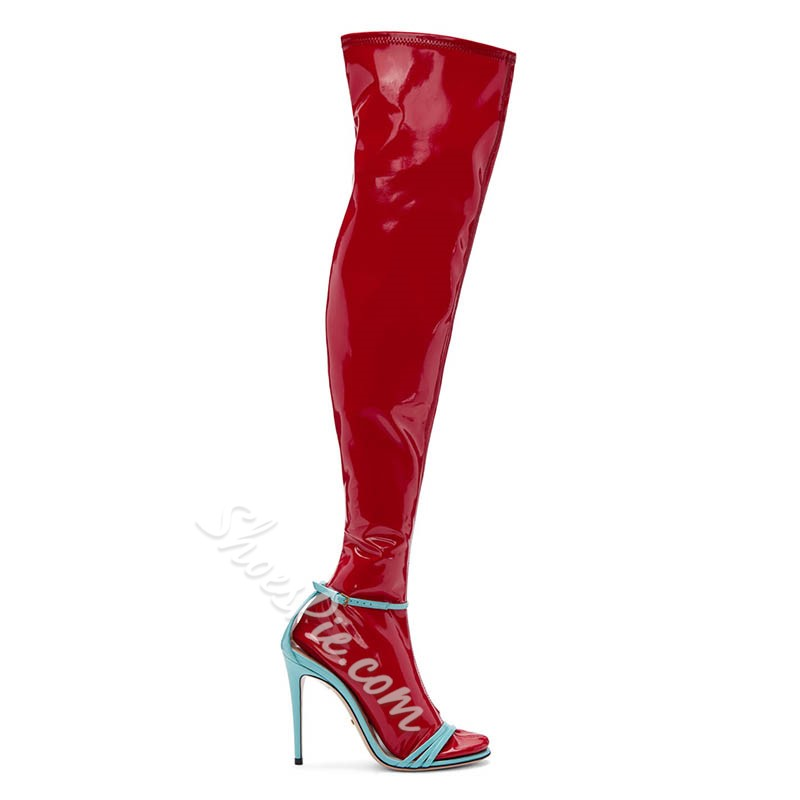 Shoespie Summer Individual Knee High Boots