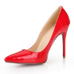 Shoespie Professional Red Pointed Toe Stiletto Heels