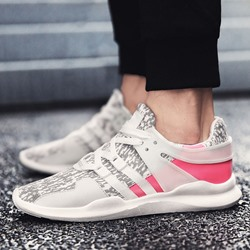 Shoespie Mesh Color Block Lace-Up Sneakers & Athletic Shoes