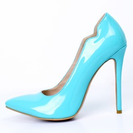 Shoespie Thread Pointed Toe Stiletto Heel