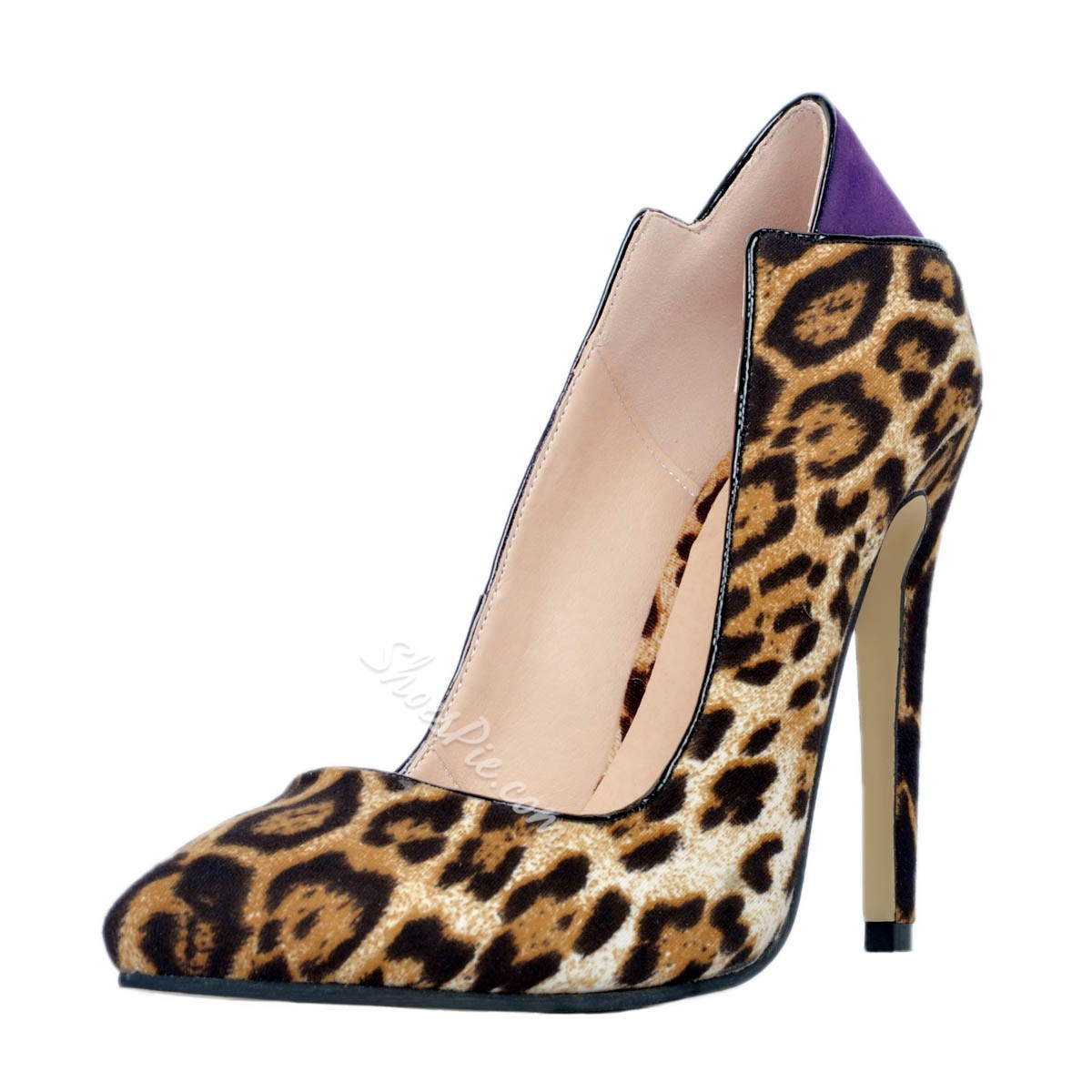 Shoespie Sexy Leopard Print Pointed-toe Stiletto Heels