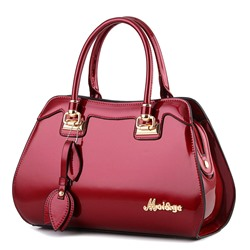 Shoespie Occident Style Glossy Women Tote Bag