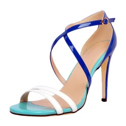 Shoespie Buckle Strap Stiletto Heel Dress Sandals