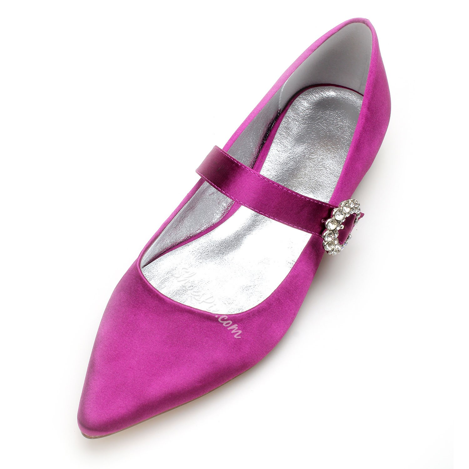 Shoespie Wedding Pointed Toe Buckle Flat Sandals
