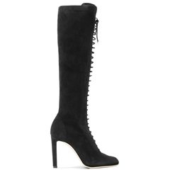 Shoespie Cross Strap Side Zipper Stiletto Heel High Heels Boot