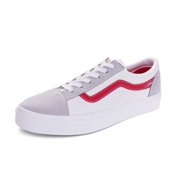 Shoespie Casual Lace-Up Canvas Skate Shoes