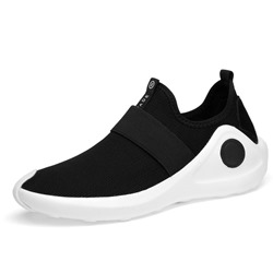 Shoespie Casual Mesh Color Block Slip-On Sneaker shoespie