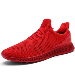 Shoespie Casual Mesh Sneakers Lace-Up Athletic Shoes
