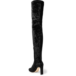 Shoespie Slip-On Stiletto Heel Casual Knee High Boots