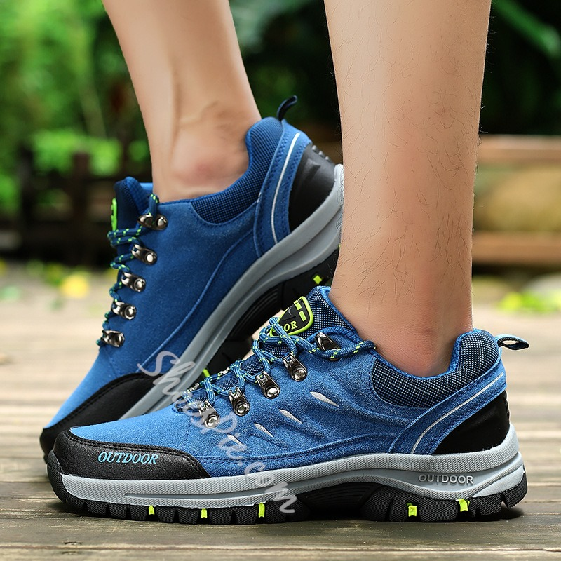 Shoespie Lace-Up Sneaker Low-Cut Upper Outdoor Oxfords