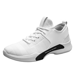 Shoespie Casual Sneaker Low-Cut Upper Mesh Lace-Up Athletic Shoes